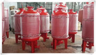 Carbon Steel Diaphragm Pressure Tank Pressure Vessel For Water Booster Pump Station